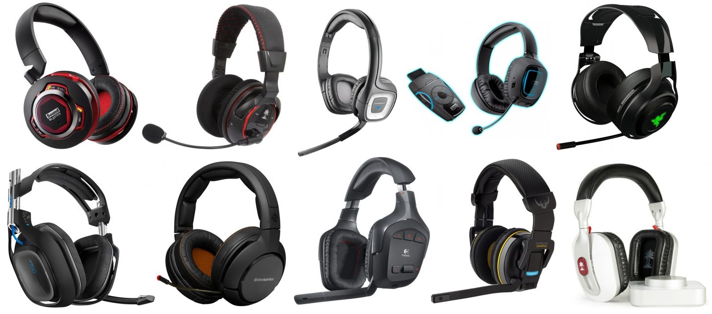 The Top 10 Best Wireless Gaming Headsets On Earth The