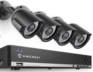 A great solution if you wanted a security system with multiple cameras