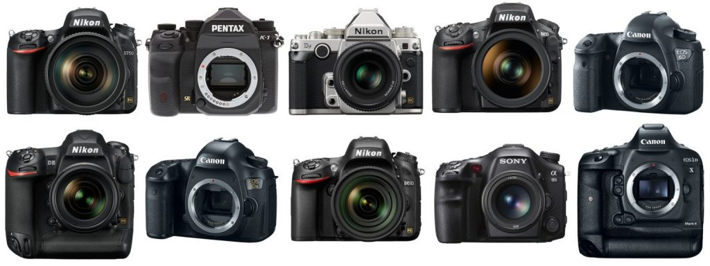 The Top 10 Best Full-Frame DSLR Cameras on Earth - The Wire Realm