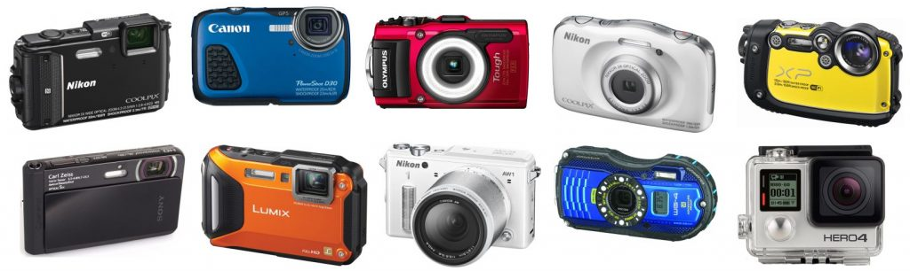 We review the best cameras that are waterproof available today