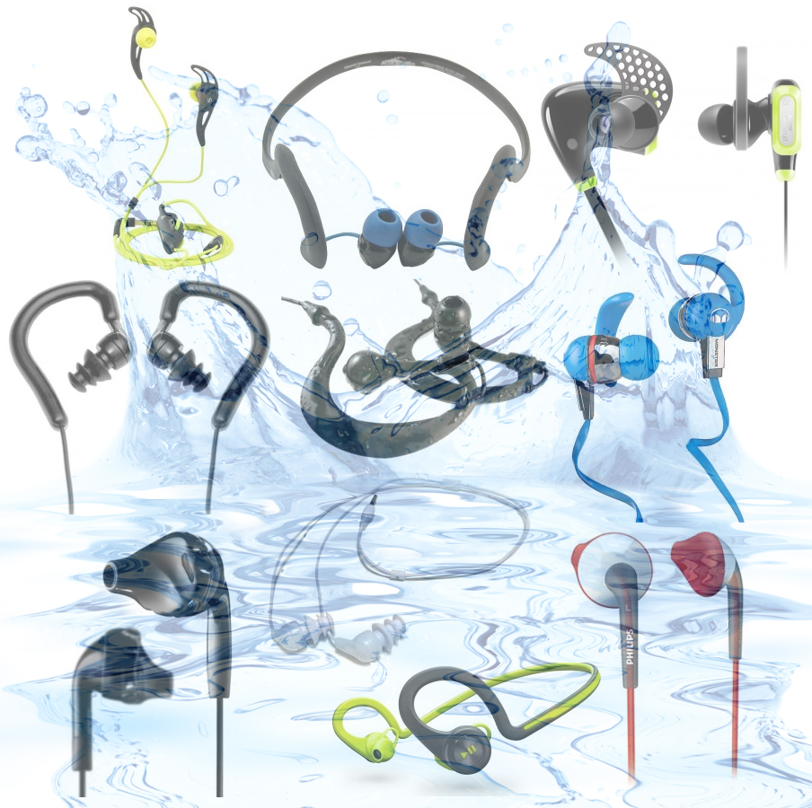 We compare and contrast the top waterproof headphone models out there