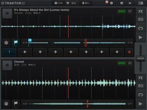 One of our favorite DJ apps if you fancy to spin on a smart device