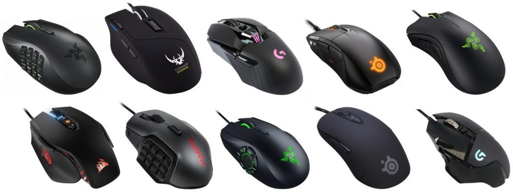 top 10 gaming mouse