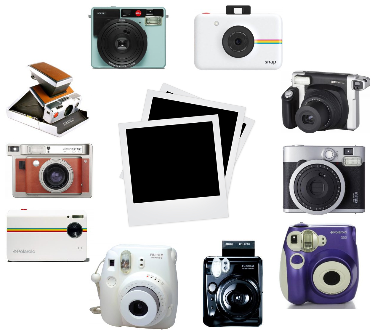 The Top 10 Best Instant Cameras In Market Wire Realm Fujifilm Instax Wide 300 Film Camera