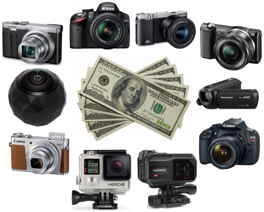 We found quite a few of the best video camera for under 500 dollars