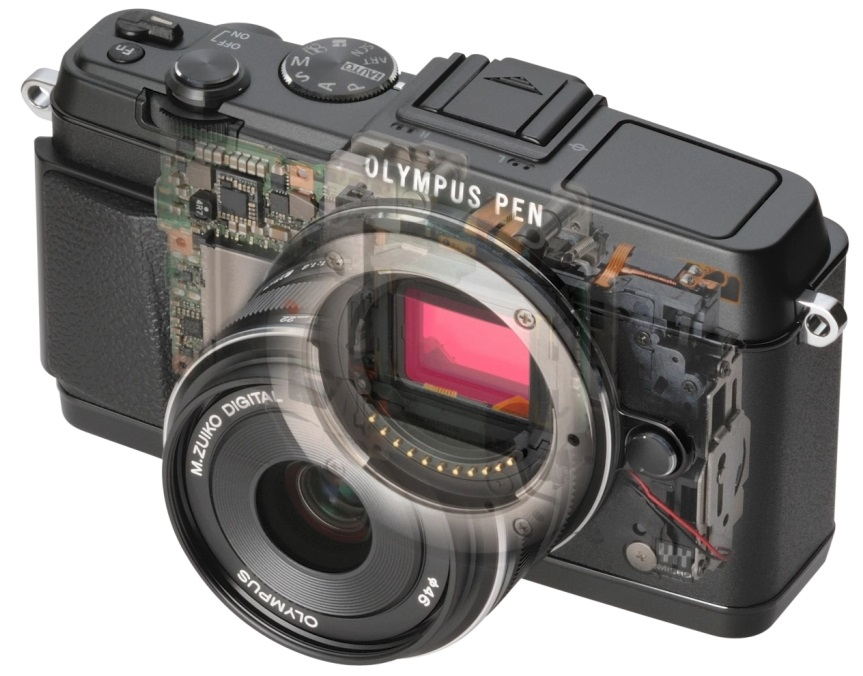 The mirrorless system is advanced and high-quality for videos