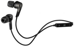 More noise isolating in-ear headphones with noise cancellation