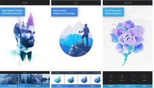 A beautiful and elegant photo editor app
