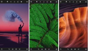 A simple and easy photo editor app here