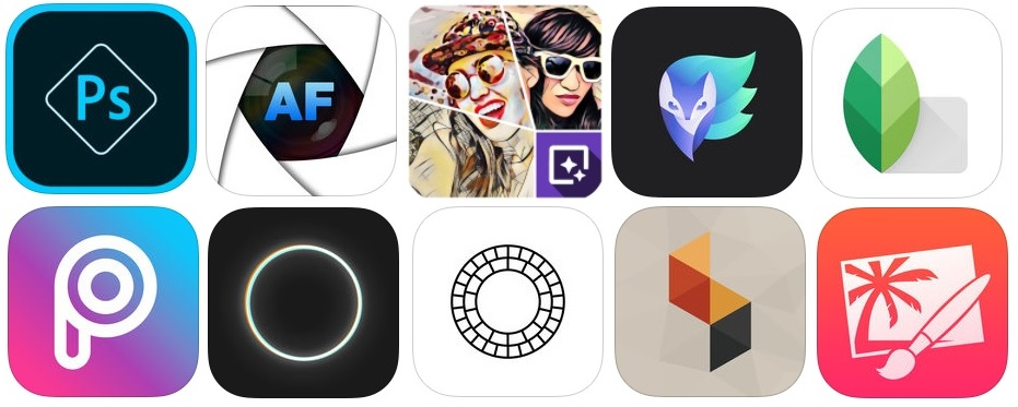 Here's a roundup of the best photo production and editor apps