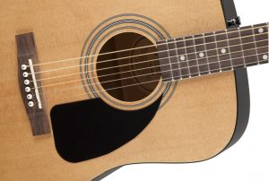 A great starter acoustic guitar due to the build