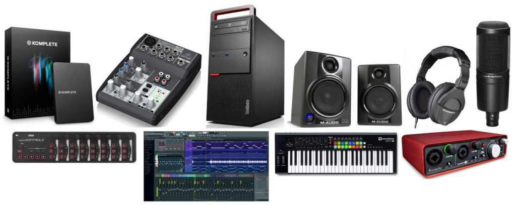 We typed up a huge guide on the best beginners music and recording equipment
