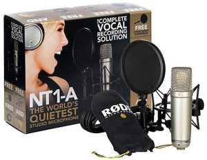 A home recording studio of course needs a microphone!