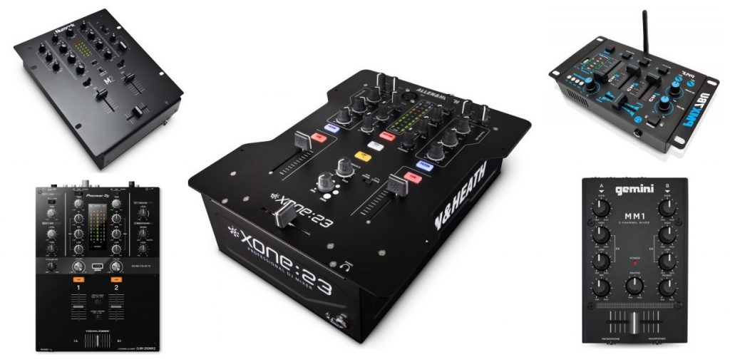 Our review on the best beginner and starter DJ mixers