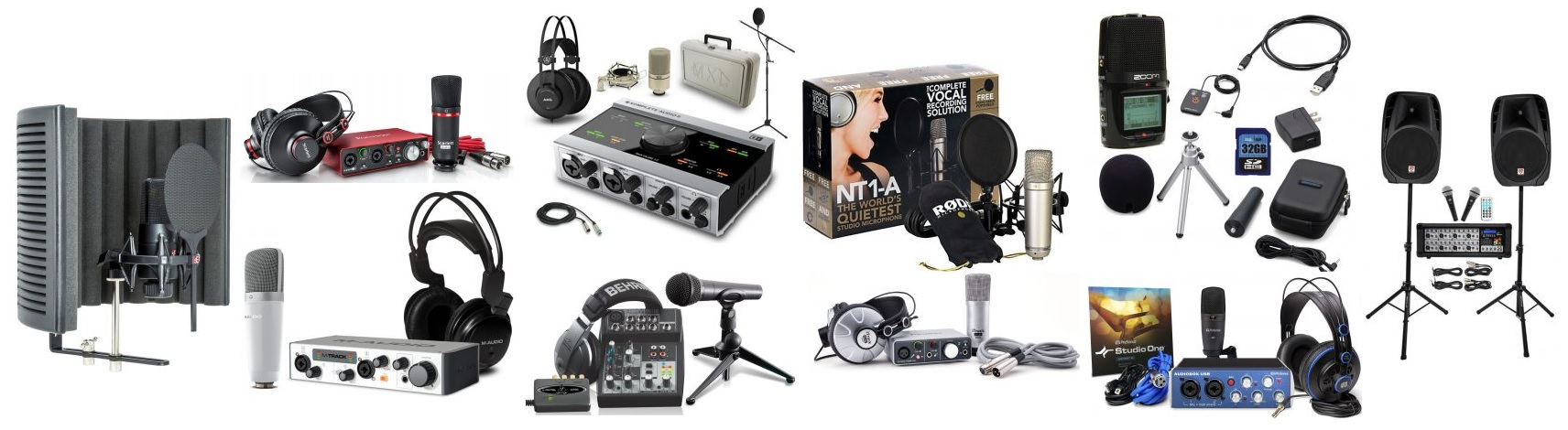 The Best Home Recording Studio Bundles and Packages - The