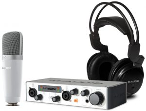 M-Audio's highly rated home recording studio package