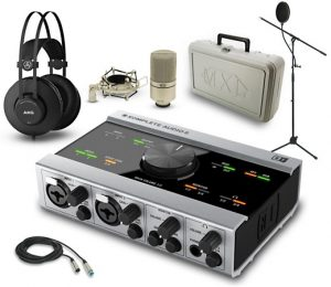 If you're into high-end gear, this recording bundle is beautiful