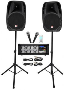 The best recording package if you are performing live on stage