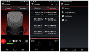 A great way to organize your voice memos or other audio recordings
