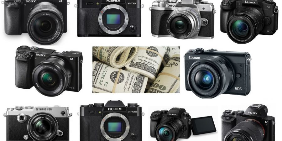 The Best Mirrorless Cameras for an Under $1,000 Budget