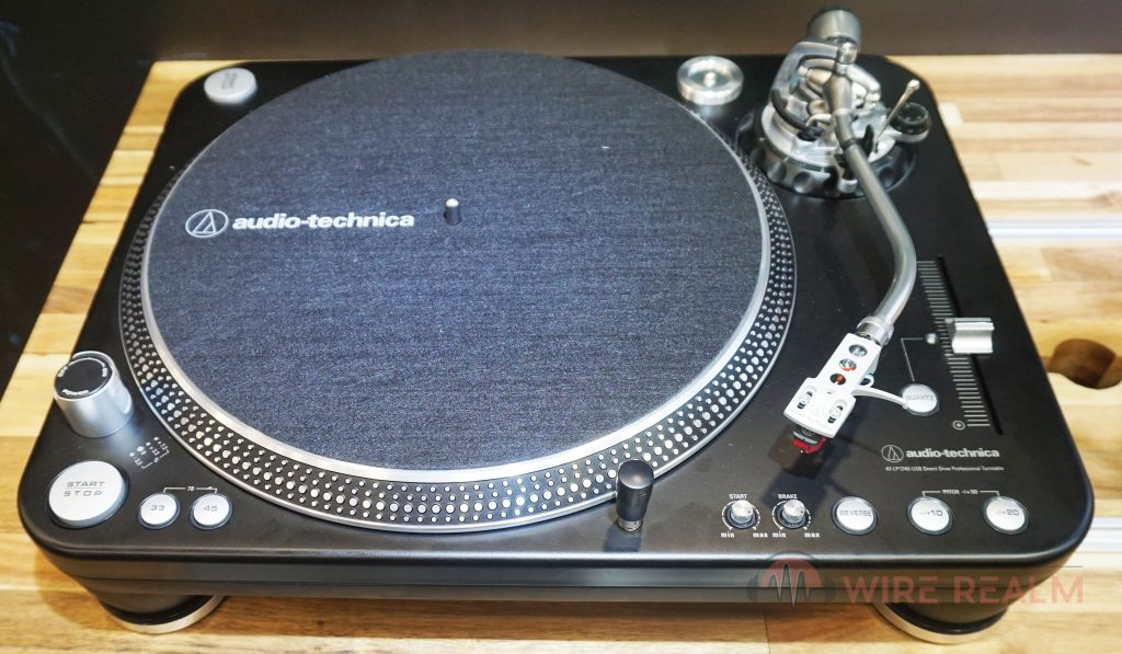 Our review of the Audio-Technica AT-LP1240-USB-XP DJ turntable