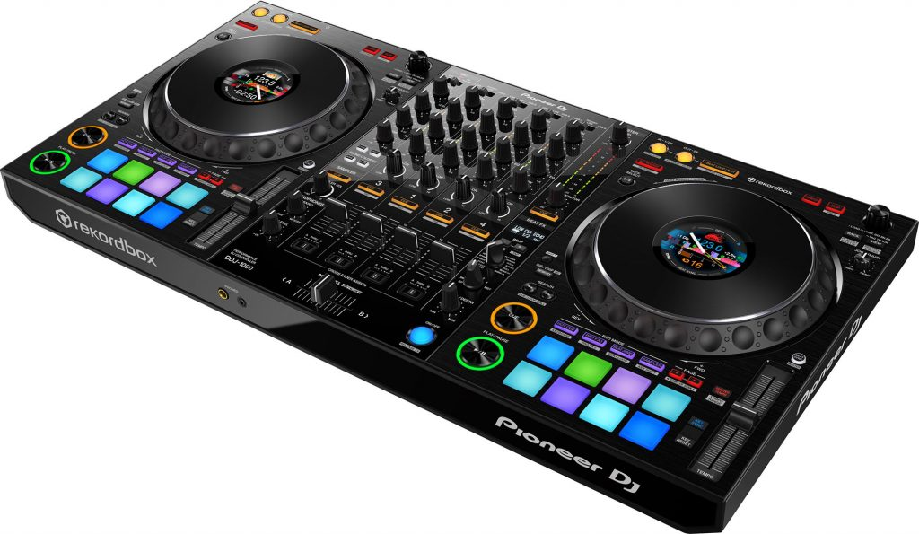 Another good look at the DDJ-1000 DJ controller
