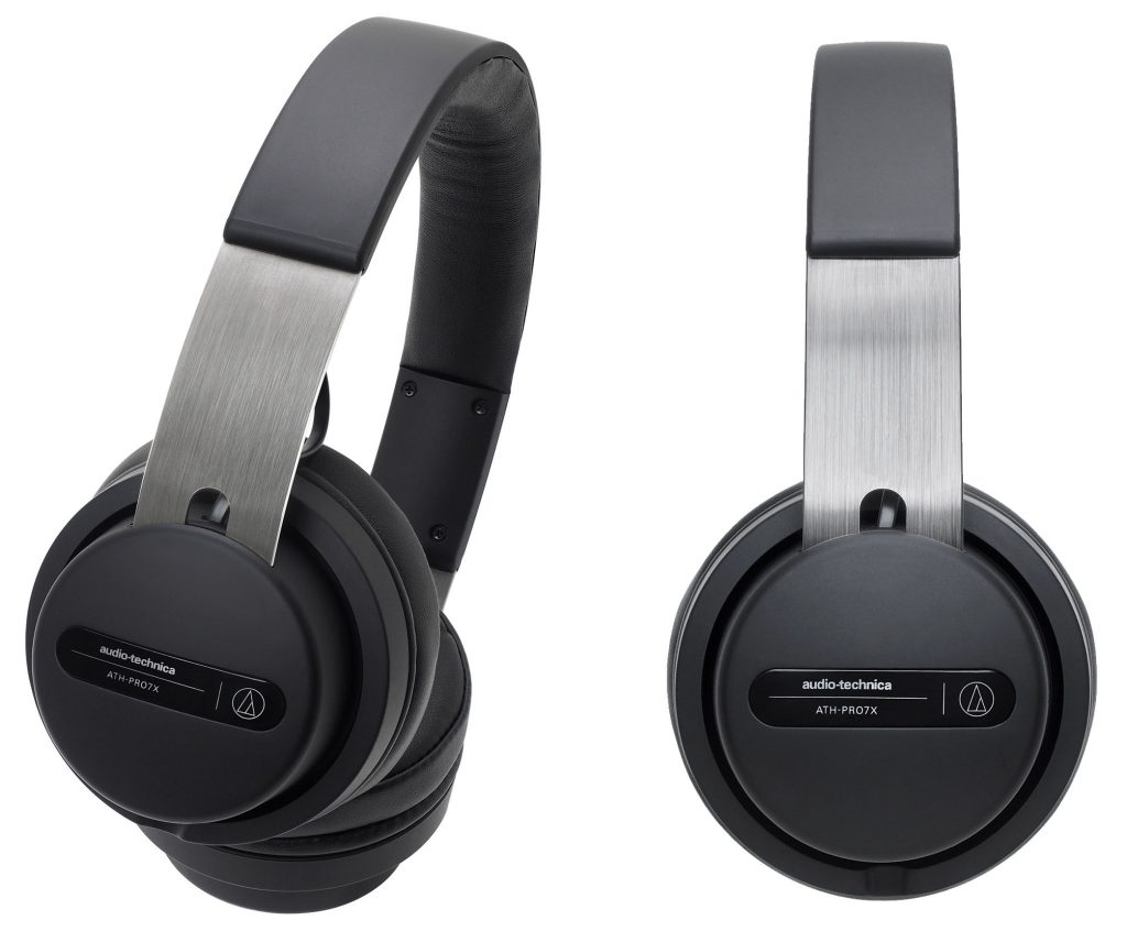 A closer look at the ATH-PRO7x on-ear DJ headphones