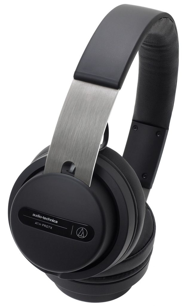 The ATH-PRO7x DJ headphones in black