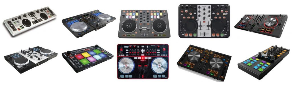 Here's a little review on the best DJ controllers for $200 dollars or less