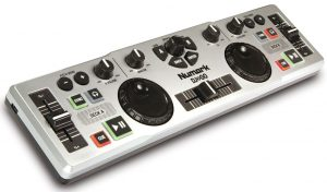 A different spin to a DJ controller if it fits your needs