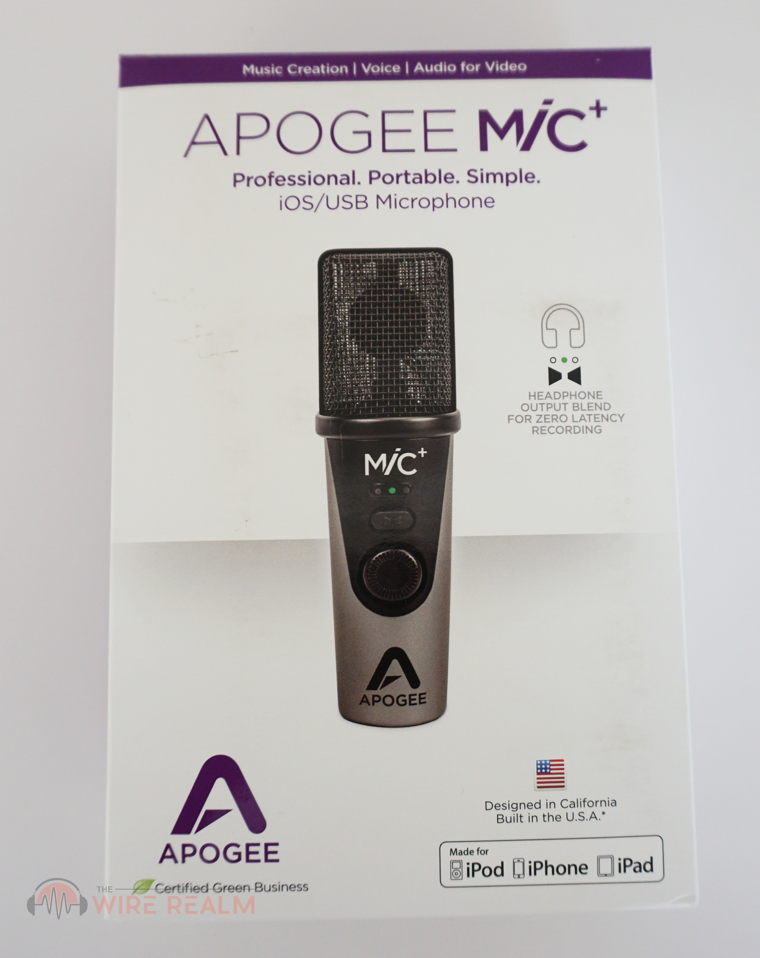 Apogee Mic Plus Usb Microphone Review The Wire Realm