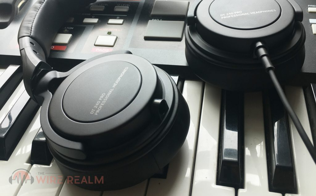 Today we review the DT 240 PRO studio headphones by Beyerdynamic