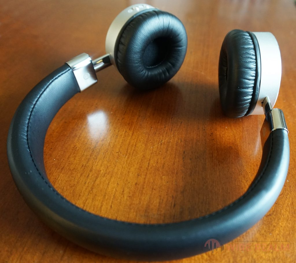 Another look at the Studio43 Bluetooth on-ear headphones
