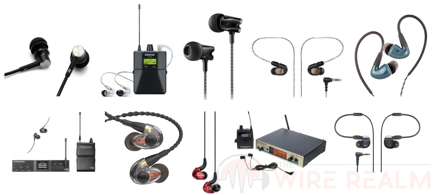 the top 10 best in ear monitors in the market the wire realm. Black Bedroom Furniture Sets. Home Design Ideas
