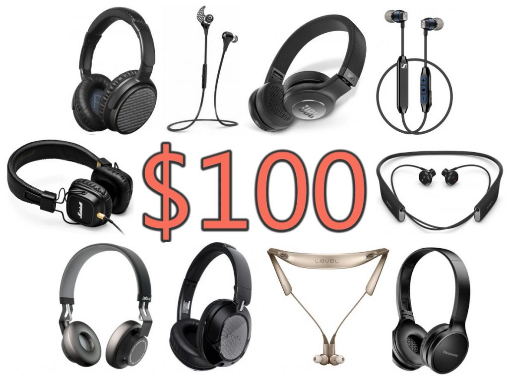 We found some picks for you to keep in mind while shopping for Bluetooth headphones for $100 or less