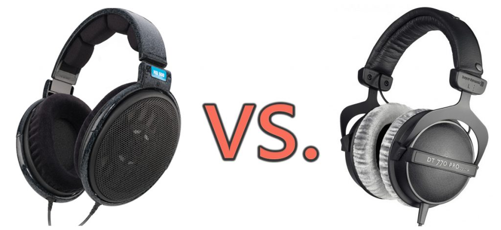What is the difference between closed-back headphones vs. open-back headphones?