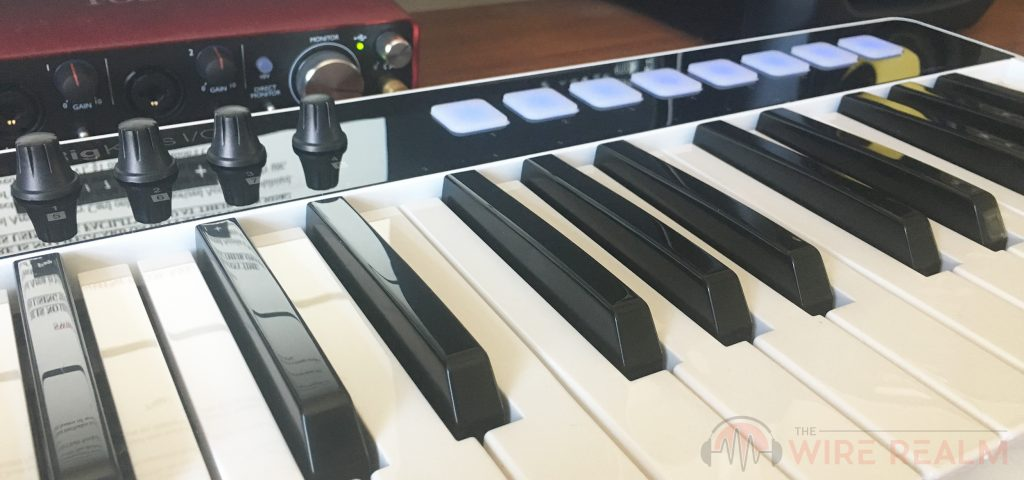 Our detailed review of the iRig Keys I/O MIDI keyboard controller