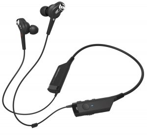 Audio-Technica's Bluetooth in-ear headphones with noise-cancellation