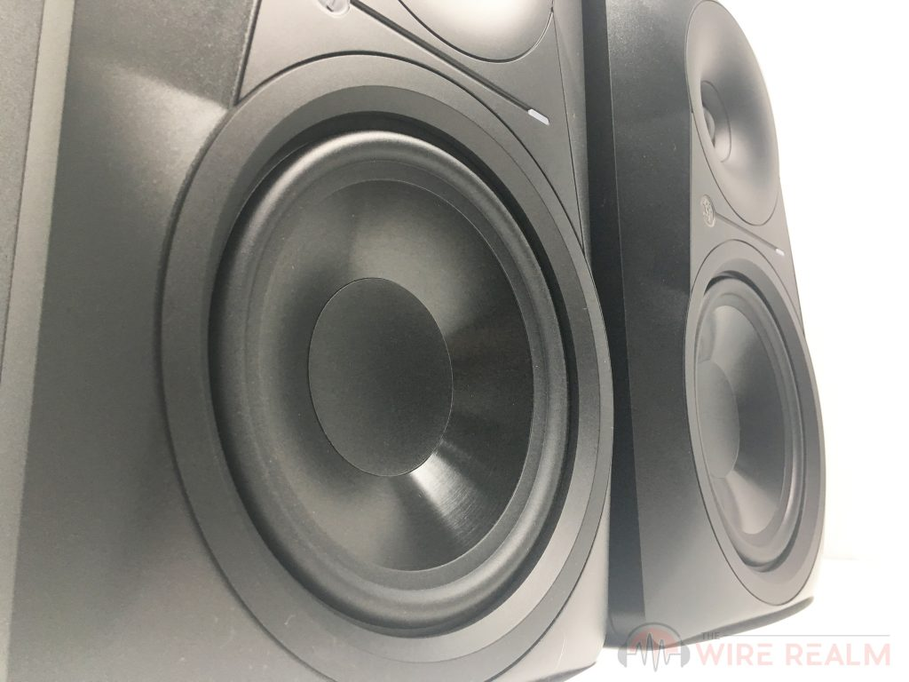 A closer look at the MR624 studio monitor's build
