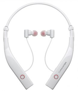 More in-ear headphones with Bluetooth and active noise-cancellation
