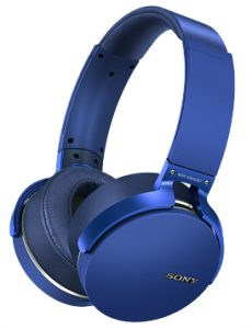 Sony's colorful over-ear Bluetooth headphones