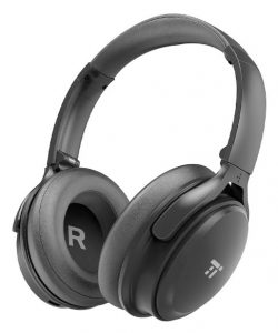 Another over-ear Bluetooth pair of noise-cancellation headphones