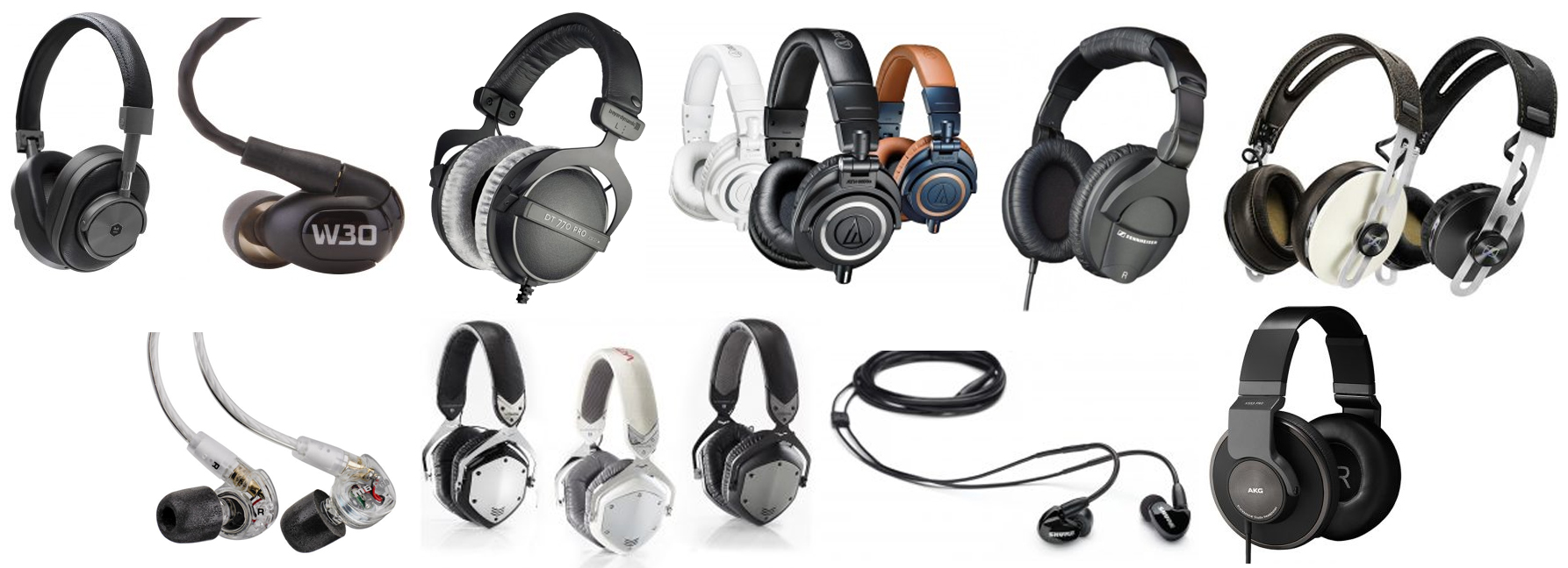 We found some of our favorite headphones with noise isolating capabilities