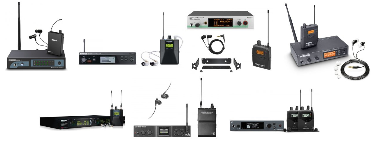 the best wireless in ear monitor systems the wire realm. Black Bedroom Furniture Sets. Home Design Ideas