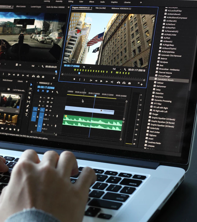 Post-production is extremely important when creating music videos