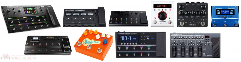 We found our favorite multi-effects pedals to recommend you