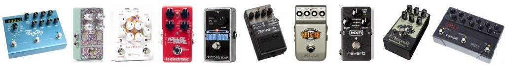 We gathered our favorite picks as the best reverb pedals for guitars