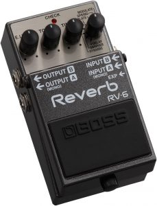 Just an old reliable reverb pedal here
