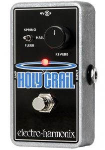 A high-end reverb FX guitar pedal