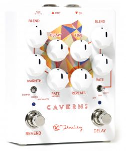 A beautiful reverb pedal with delay as well